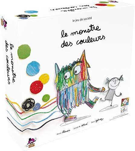 Jeu de société Asmodée - Le monstre des couleurs (via coupon)