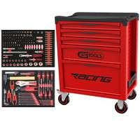 Servante d'atelier KS Tools Racing 5 tiroirs + 184 outils (outil-maxi-pro.com)