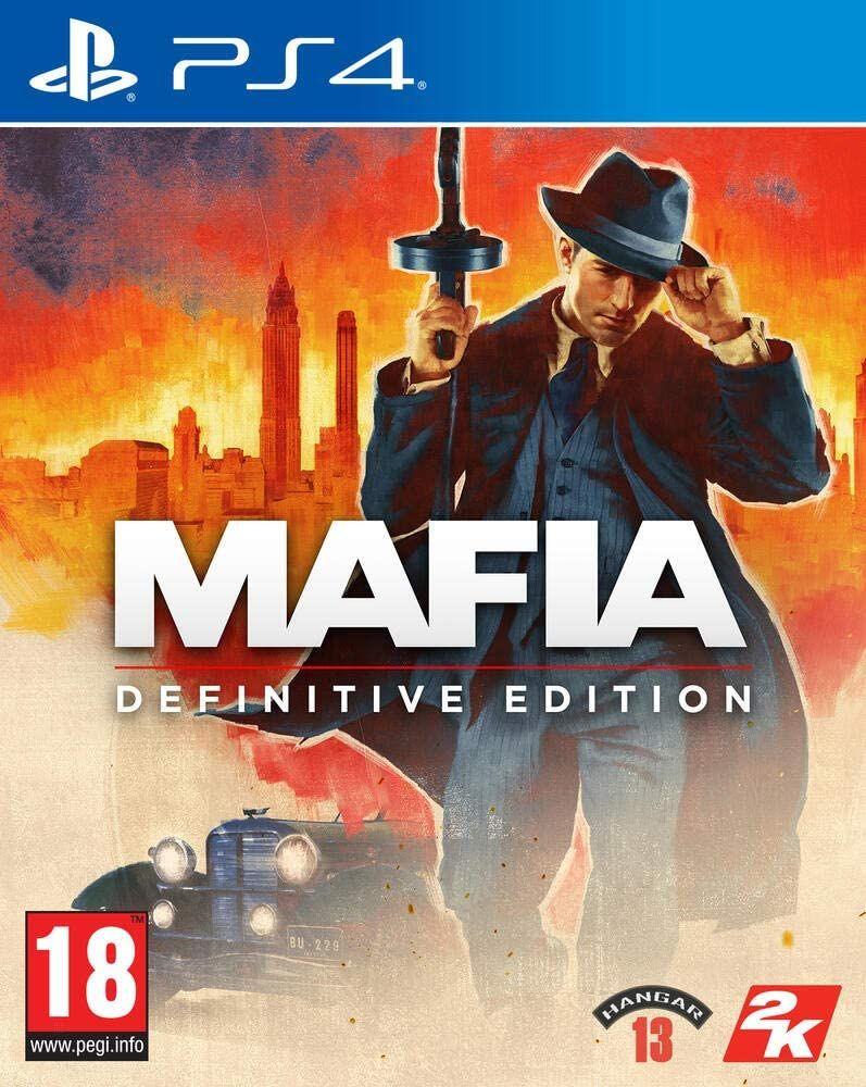 Mafia Definitive Edition sur PS4