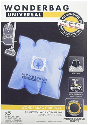Boite de 5 Sacs aspirateur universels Wonderbag Classic WB406120