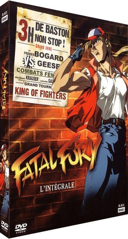 DVD Fatal Fury - L'intégrale du Film + 2 OAV