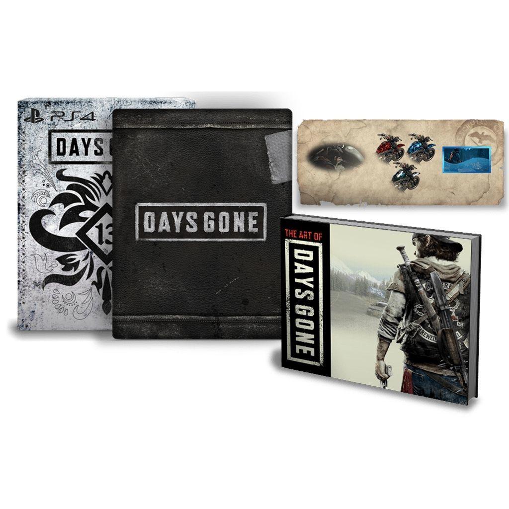 Days Gone - Edition Spéciale sur PS4 (retrait magasin uniquement)