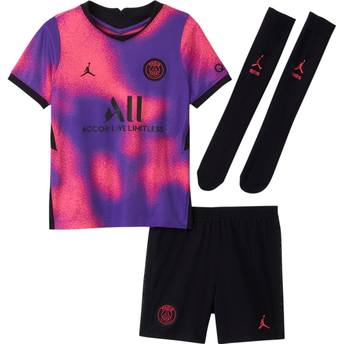 Tenue Nike x Jordan PSG Minikit 4Th (20-21) - Du 3 au 6 ans