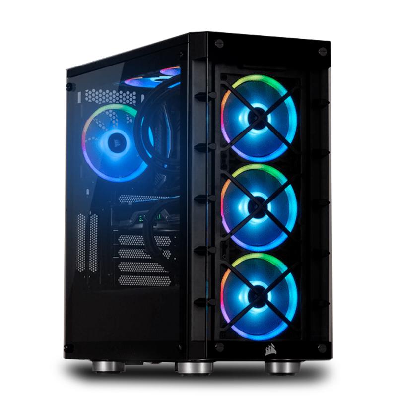 PC Fixe Gamer Python - Ryzen 5 5600X, RTX 3070 (8 Go), 16Go RAM (3200 Mhz), 500Go SSD Nvme, Corsair ICUE 465X RGB, Win10 (agando-shop.fr)