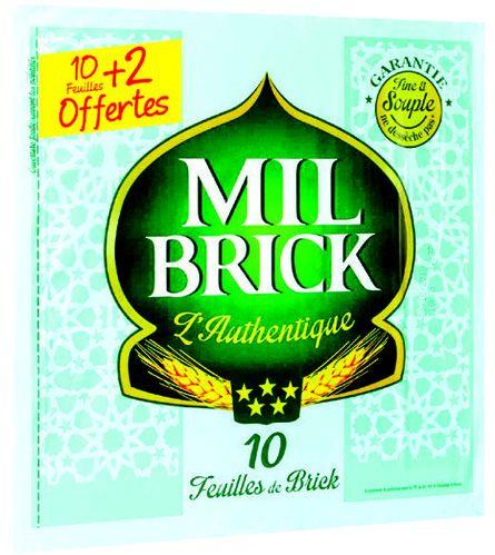 """Sachet de 12 feuilles de brick """"Mil Brick l'authentique"""""""