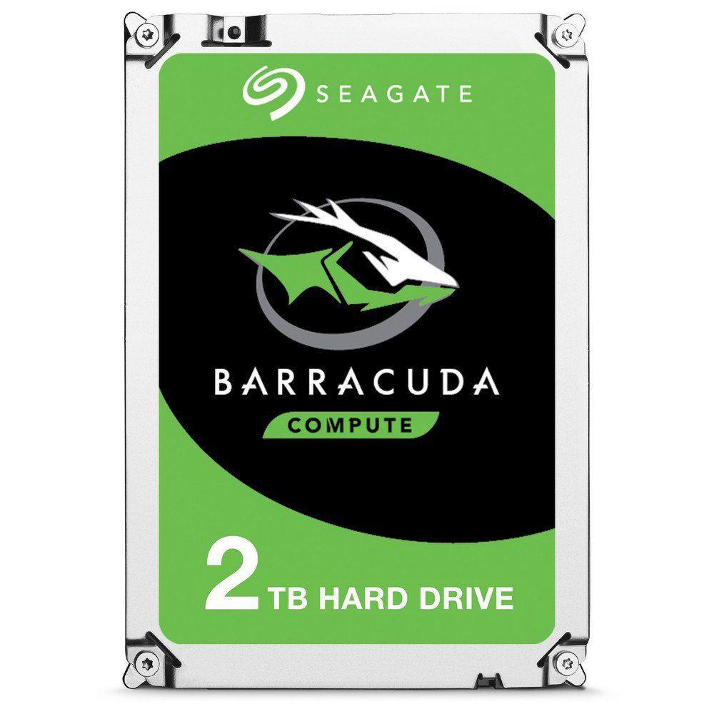 "Disque dur interne 3,5"" Seagate BarraCuda ST2000DM008 - 2 To, 7 200 tr/min - SMR"