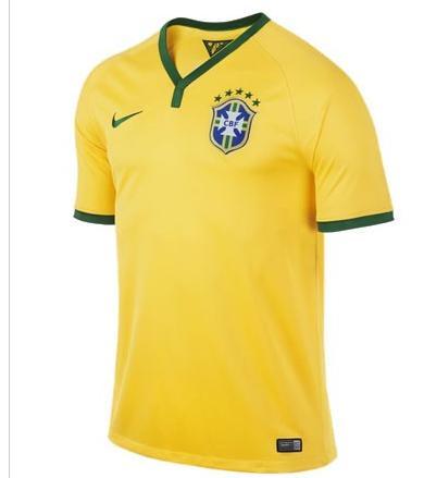 Jusqu'à 50% de réduction sur une sélectionde maillots de football - Ex : Brésil domicile 14/16