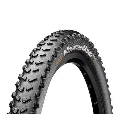 Sélection de pneus VTT ou route - Ex : Pneu rigide VTT noir Continental Mountain King II 26X2.30