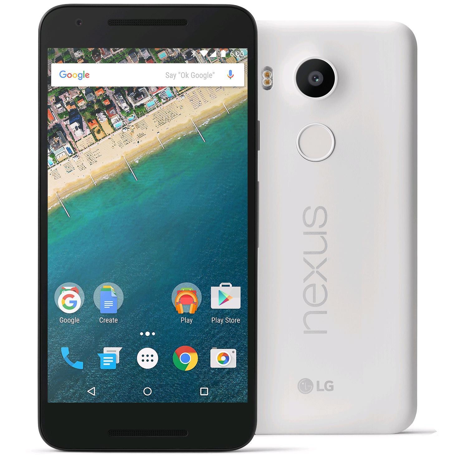 "Smartphone 5.2"" Google Nexus 5X - 16 Go, Blanc"