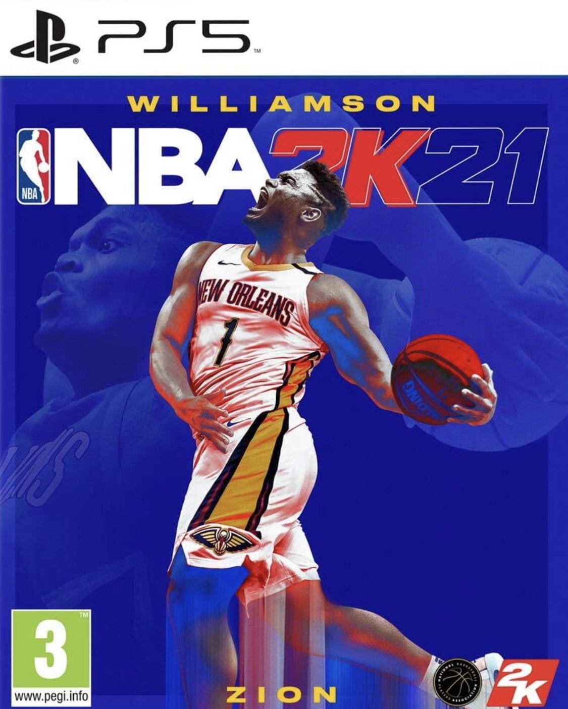 NBA 2K21 sur PS5