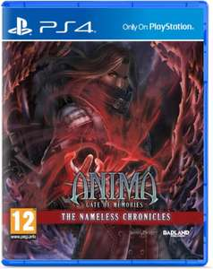 Anima Gate of Memories : The Nameless Chronicles sur PS4