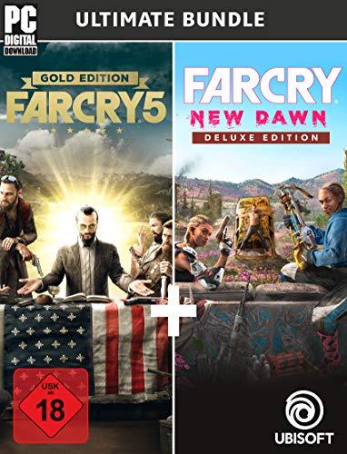 Far Cry New Dawn - Deluxe + Far Cry 5 Gold (Dématérialisé - Ubi Connect)