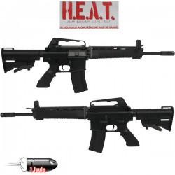 Réplique Airsoft AEG M4 H.E.A.T (Plusieurs Modèles) - Ex: M4 X744 BK Heat Full Métal Recoil System