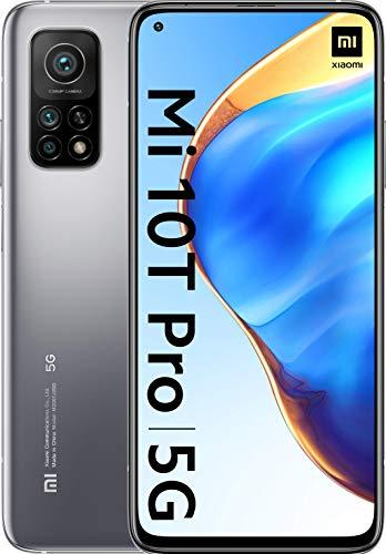 "Smartphone 6.67"" Xiaomi Mi 10T Pro 5G - Full HD+, SnapDragon 865, 8 Go RAM, 128 Go, Argent"