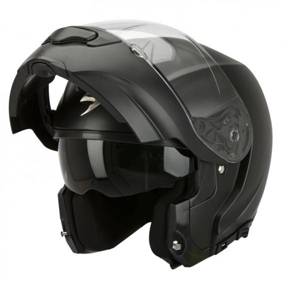 Casque modulable Scorpion EXO-3000 noir mat - Taille L, XL (Access-k.fr)