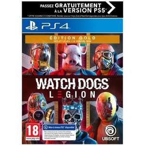 Watch Dogs Legion : Gold Edition sur PS4/PS5