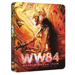Blu-Ray 4K Wonder Woman 1984 - Édition Limitée SteelBook (4K Ultra HD 3D + Blu-Ray)