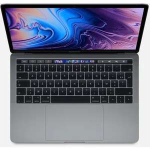 "PC Portable 13.3"" Apple MacBook Pro Touch Bar (2019) -i5, 8 Go RAM, 256 Go SSD, Gris sidéral"