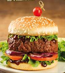 1 Burger acheté = Le 2ème à moitié prix