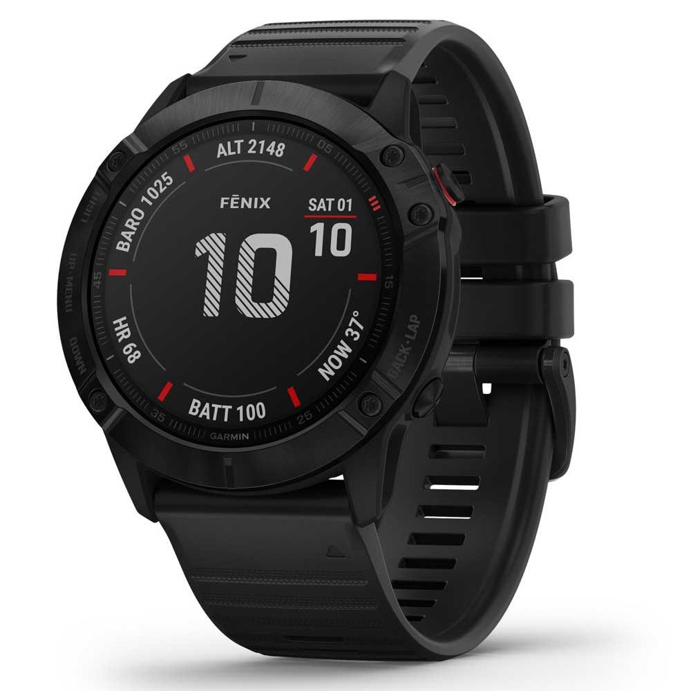 Montre connectée GPS Garmin Fenix 6X Pro - Noire