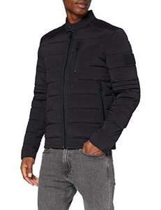Veste Homme Calvin Klein Jeans Quilted Padded Moto - Noir (Plusieurs tailles)