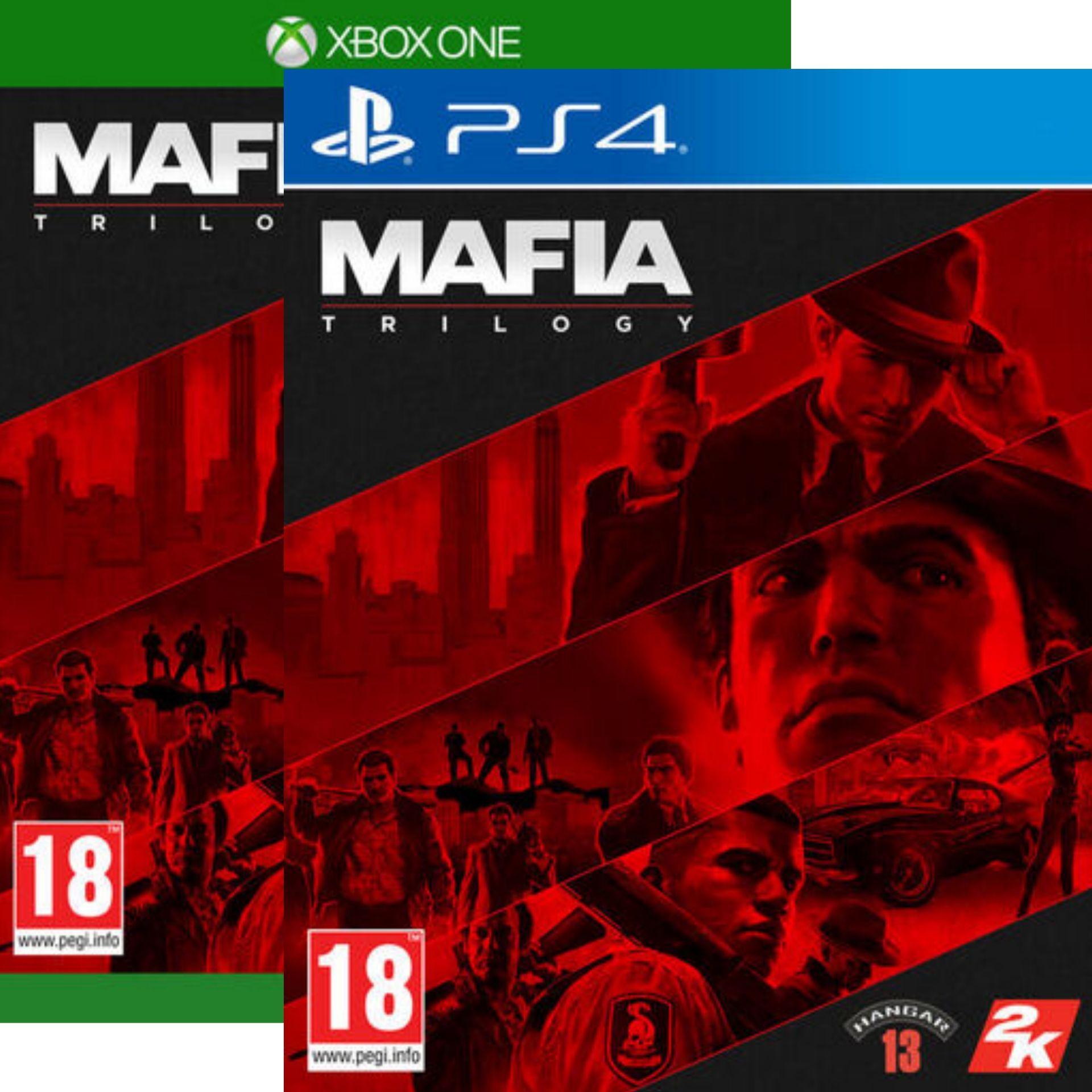 Mafia Trilogy sur PS4 ou Xbox One