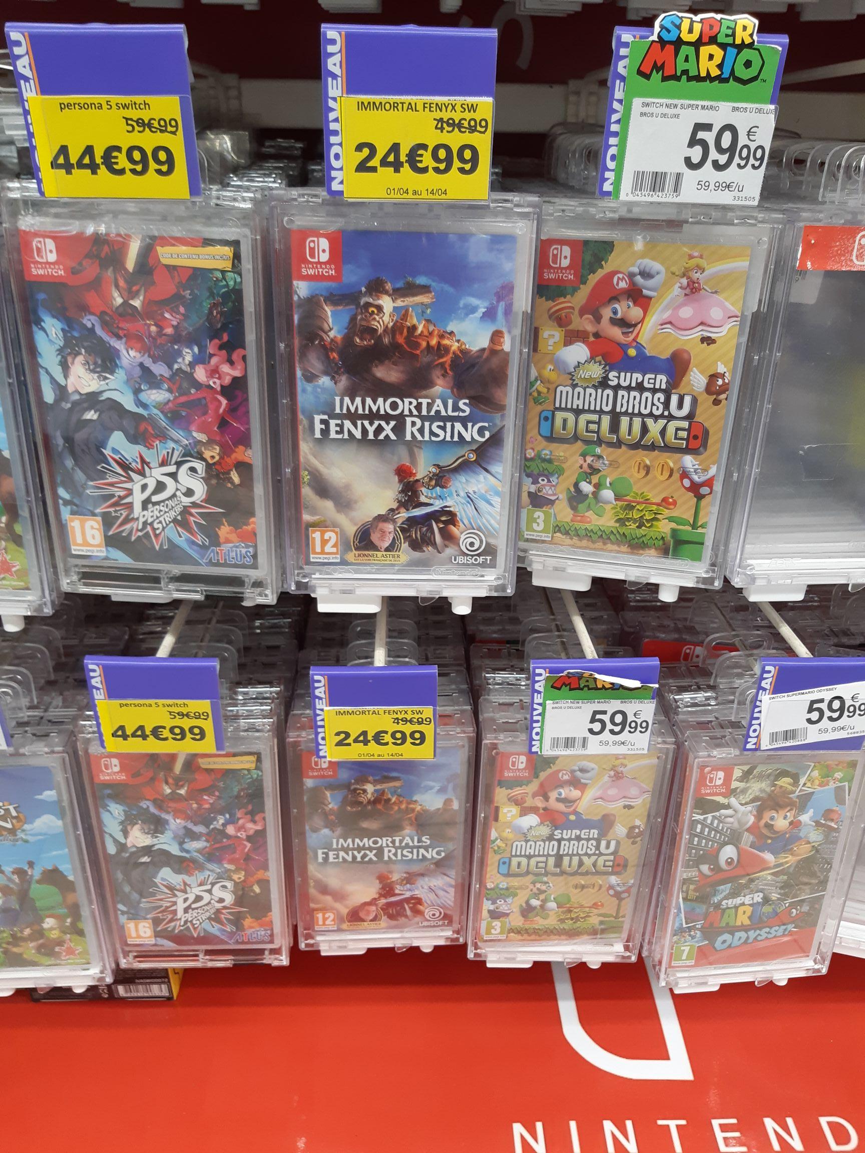 Jeu Immortal Fenyx Rising sur Nintendo Switch - Auchan Epagny (74)