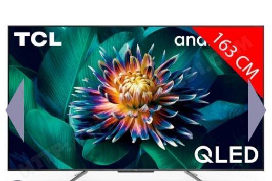 """TV QLED 65"""" TCL 65C711 - 4K UHD (via ODR de 50€)"""