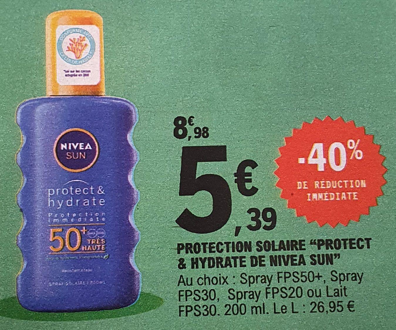 Protection solaire Nivea Sun Protect & Hydrate - 200ml