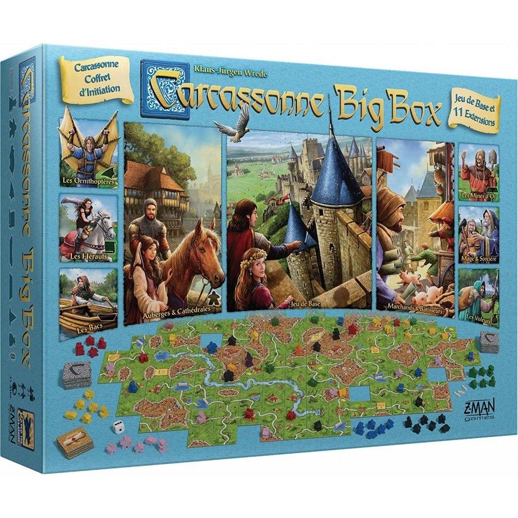 Jeu de société Asmodée - Carcassonne Big Box (Via coupon)