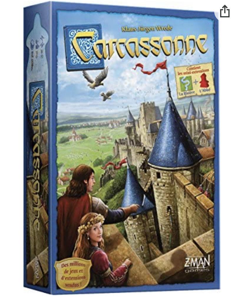 Jeu de société Asmodée - Carcassonne (Via coupon)