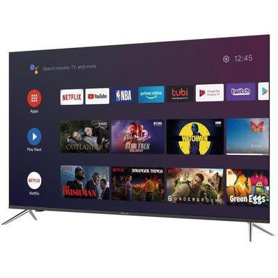 """TV QLED 65"""" Continental Edision CEQLED65SA20B7 - 4K UHD, HDR, Android TV"""