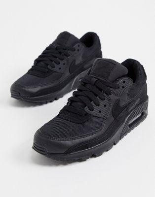 Chaussures Nike Air Max 90 - Triple noir