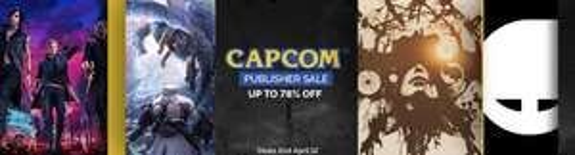 Sélection de jeux en promotion Capcom (Dématérialisé)