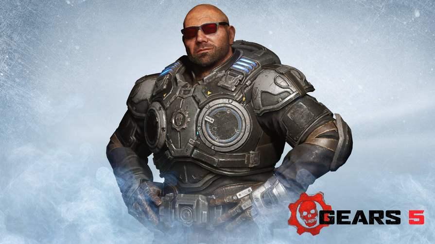 Contenu numérique : Skin Batista pour Marcus gratuit pour Gears 5 (Dématérialisé - PC & Consoles)