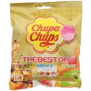 Sucettes The Best Of Chupa Chups - 10 pièces