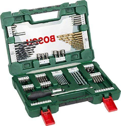 Coffret outils perçage/vissage Bosch V-Line - 91 pièces