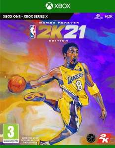 NBA 2K21 - Edition Mamba Forever sur Xbox One (Xbox Series)