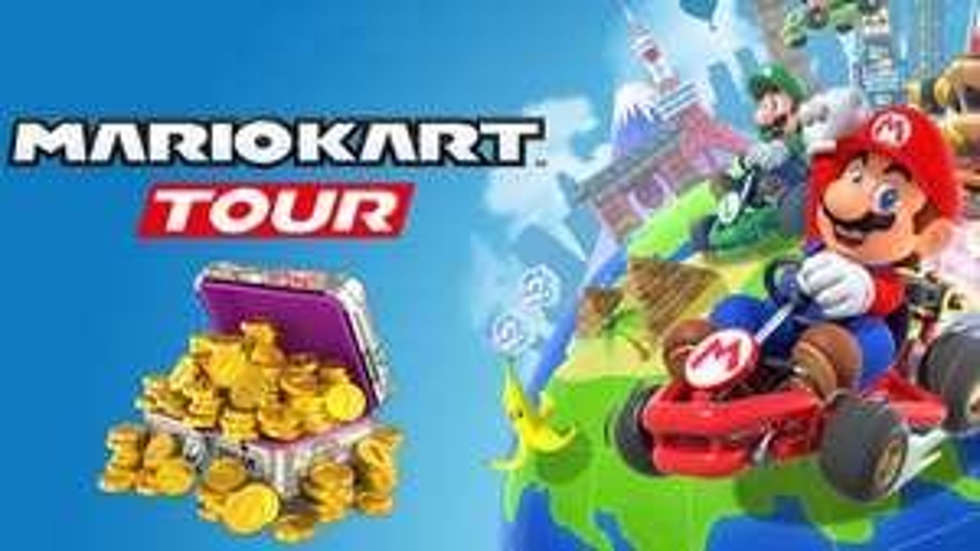 15 000 pièces d'or offertes sur Mario Kart Tour (Dématérialisé)