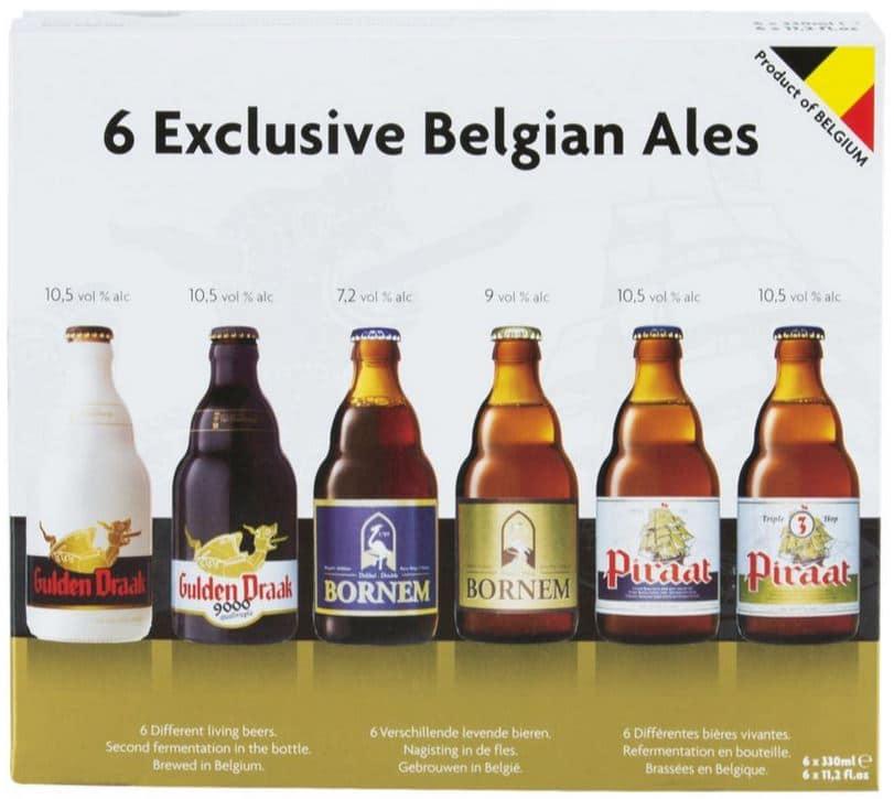 Pack de 6 bières belges - 6 x 33 cl