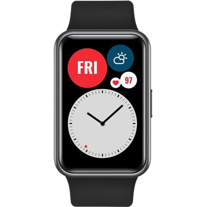 Bracelet connecté Huawei Watch Fit - Noir (vendeur tiers)