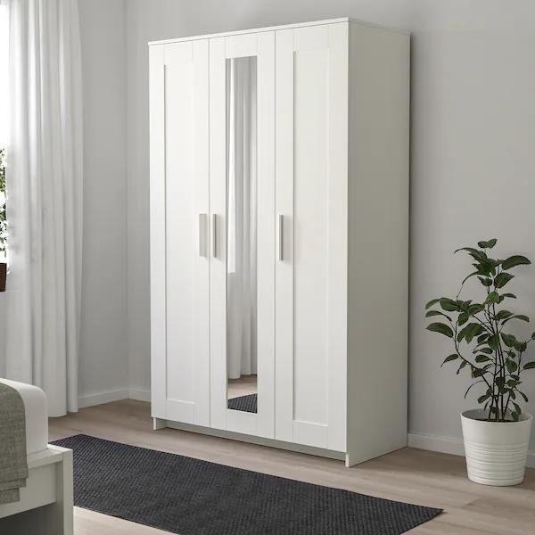 [Ikea Family] Armoire 3 portes Brimnes - Blanc, 117x190 cm