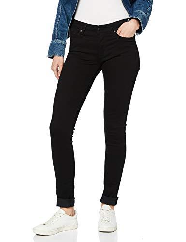 Jeans Skinny Levi's 711 pour Femme, Noir (Taille 24W / 32L)