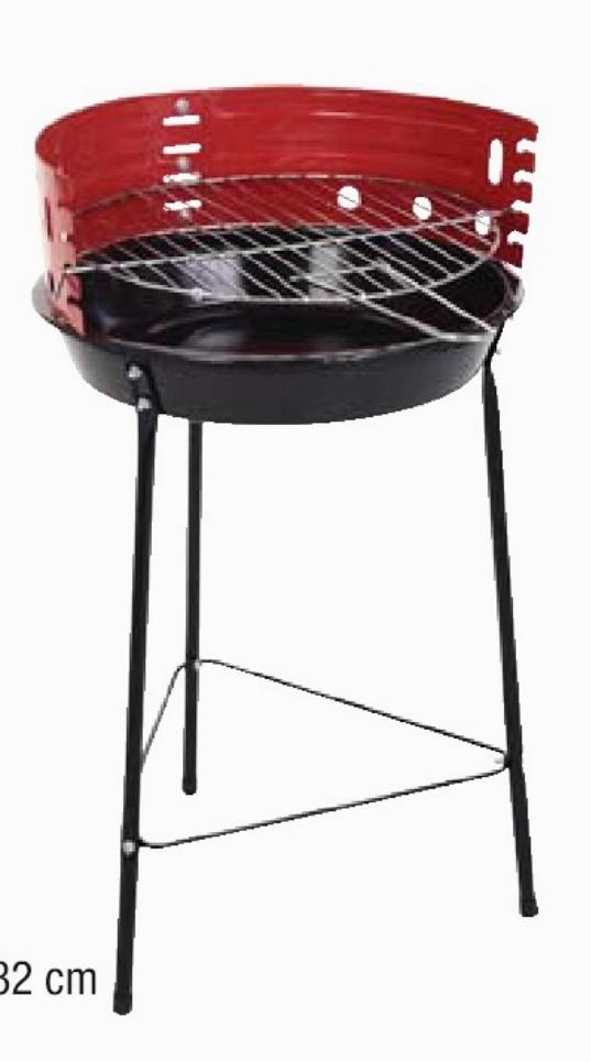 Barbecue sur pied - 29cm