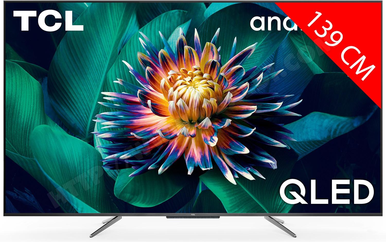 "TV 55"" TCL 55C711 - QLED, 4K, HDR Premium (HDR10+ / HDR HLG), Dolby Vision & Atmos, Android TV (via ODR 100€)"