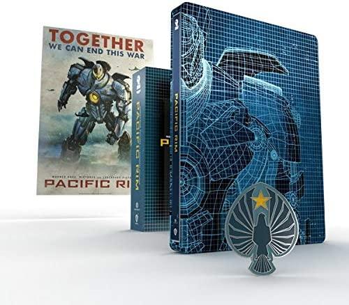 Blu-ray 4K Pacific Rim - Édition Titans of Cult avec SteelBook + Blu-Ray + Goodies