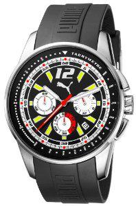 Montre Chronographe Puma Time A.PU102161005 - Bracelet Résine Noir