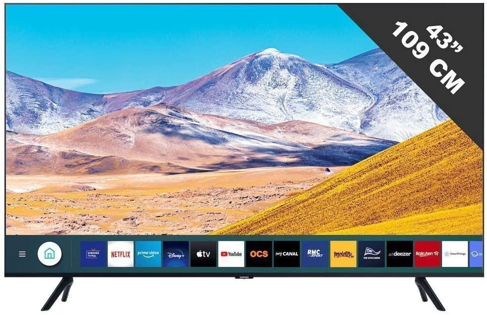 """TV 43"""" Samsung UE43TU8075 - LED 4K, 108cm"""