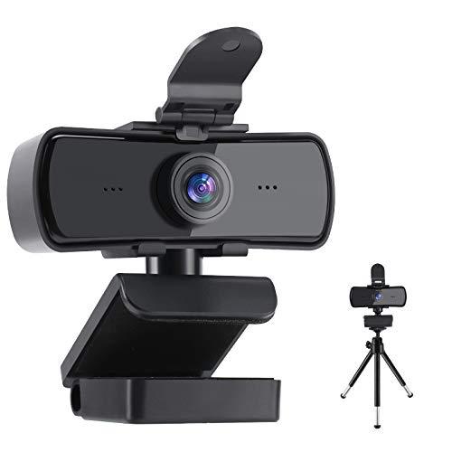 Webcam Feimuosi 2k avec Microphone et Couvercle + trépied (Vendeur Tiers - Via coupon)