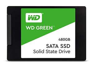 """SSD Interne 2.5"""" WD Green 3D NAND - 480 Go"""